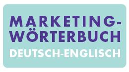 Marketingwörterbuch Deutsch - Englisch