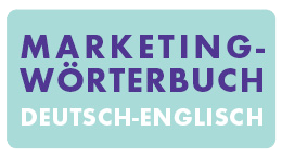 Marketingwörterbuch Deutsch - Englisch