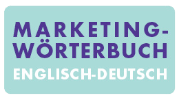 Marketingwörterbuch Englisch - Deutsch