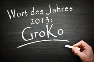 """""""GroKo"""" ist das Wort des Jahres 2013"""