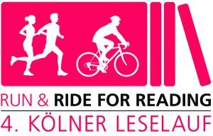 Logo 4. Kölner Leselauf © Stiftung Run & Ride for Reading