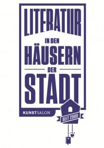 Logo des Festivals Literatur in den Häusern der Stadt © KunstSalon e. V.