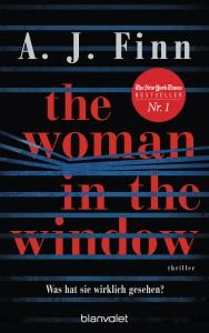 Buchcover: A. J. Finn – The Woman in the Window – was hat sie wirklich gesehen?